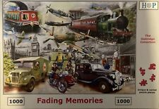 HOP Deluxe 'FADING MEMORIES' 1000-Piece Jigsaw Puzzle  **Fast Free Postage**