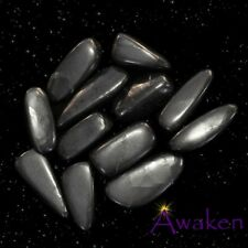 *ONE* SHUNGITE Natural Tumbled Stone Approx 15-20mm *TRUSTED SELLER*