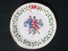 Lenox The Annual Holiday Collector Plate Year 1998 - R235 - 8th in the series