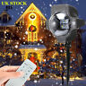 Laser Lights Snowing Projector Party Christmas Landscape LED Deco In or Outdoor