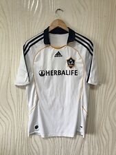 LOS ANGELES GALAXY 2007 2008 HOME FOOTBALL SHIRT SOCCER JERSEY ADIDAS