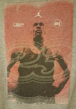 JORDAN PRE-OWNED Most Valuable Player 98 Size XL Gray T-Shirt Vintage
