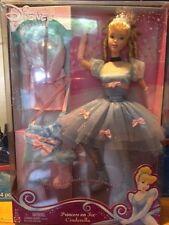 Mattel Barbie Doll Disney Princess on Ice Cinderella Skates NEW clothes 2004