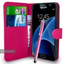 Rose étui porte-feuille Cuir PU Livre Housse Pour Samsung Galaxy S7 G930