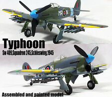 Typhoon Sw409 Squadron 245 Schleswing 1945 aircraft 1/72 plane built Easy model