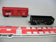 ae318-0,5 #2x Kadee N U.S.Freight Cars: New Haven NH 31850+ Baltimor & Ohio