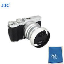 JJC LH-JXF35II lens hood For Fujifilm XF 35mm f/2 R WR Shade Silver Fuji 35 +kit