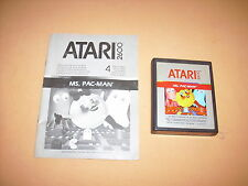 ( ATARI 2600 ) MS PACMAN. ATARI 1982. ONLY CARTRIDGE & MANUAL. WORKING