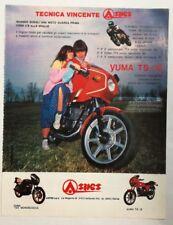 Pubblicità 1981 MOTO ASPES YUMA GALLARATE MOTOR advertising publicitè werbung