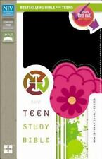 Teen Study Bible (2014 Black/Pink Imitation Leather, Rev New Edition) Zondervan