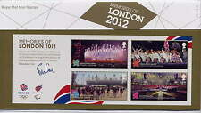 GB 2012 MEMORIES of LONDON OLYMPICS MINIATURE SHEET PRESENTATION PACK No.476