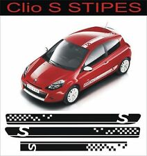 Renault Clio Sport Full Stripe Kit any colour decals Stickers