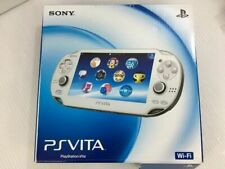 PlayStation PS Vita Wi-Fi Console only Crystal White PCH-1000 ZA02 from Japan JP