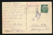 D.Reich Landpoststempel R2 Poststelle Konstanz-Egg auf Beleg (58507)