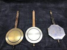 Lot de trois balanciers westminster odo carillon ancien pendule horloge
