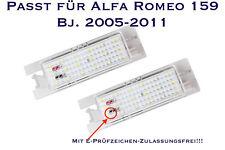 LED SMD Kennzeichenbeleuchtung Alfa Romeo 159 Bj. 2005-2011 (XL)