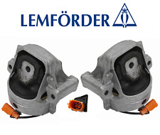 OEM Engine Motor Mount Hydraulic Set Lt & Rt 2pc Lemforder Audi A4 A5 Quattro Q5
