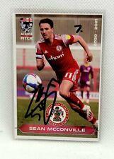 2020-21 Across The Pitch Sean McConville Autograph Card 7/29 Accrington Stanley