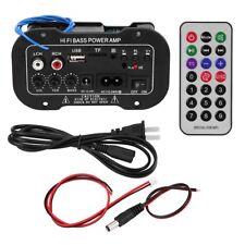 Auto Amplificatore digitale Bluetooth Audio stereo AMP Hifi Bass 5 pollici
