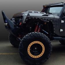 Xprite Avenger Front Steel Metal Hood with Mesh Vents for Jeep Wrangler JK