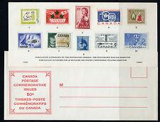 Weeda Canada VF 1960 Annual Souvenir Card #2 in original envelope CV $20
