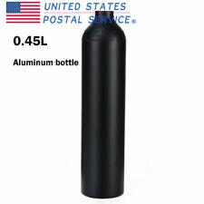 300Bar/4500psi 0.45L Air Tank High Pressure Aluminum For Paintball Game Portable