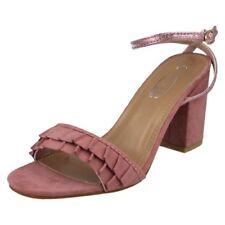 41 Scarpe da donna rosa in camoscio sintetico