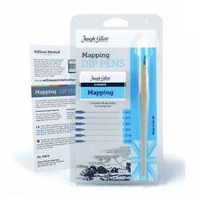 Joseph Gillott DIP mapping set di penne