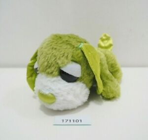 "Green Ocha-ken 171101 Tea Dog San-X  SEGA Itoen Plush 5"" Toy Doll Japan"