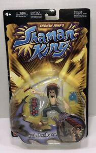 2004 Mattel Shaman King Yoh Asakura Action Figure G4152. New Sealed