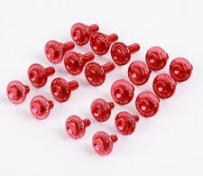 Zeta Red Aluminum Body Bolt Kit for Honda 14-17 CRF250R 13-16 CRF450R ZE88-5042