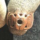 10k Rose Gold Scottish Rite Double Headed Eagle Masonic 32nd Degree Ring Sz 7.5 for sale
