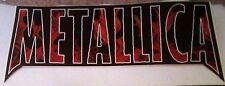 "Metallica Load logo 10""x4.25"" Sticker Decal deadstock new old stock"