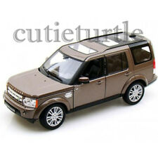 Welly Land Rover Discover 4 1:24 Diecast Model Car 24008 Metallic Brown
