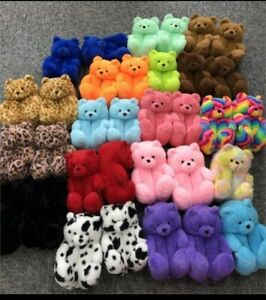 Teddy Bear Slippers Wholesale