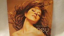 MARIAH CAREY    HONEY/BAD BOY REMIX   45 RPM VINYL RECORD