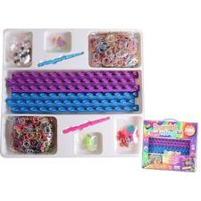 Loom Bands Haken Charms Beads Clips Starterset XL 3000 Bänder 2 Webrahmen