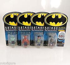 batman animated series 4 pcs set batgirl mr freeze kubrick medicom bearbrick