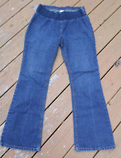 Motherhood Maternity Jeans size M Womens Boot Cut Stretch (34x30) Dark Wash