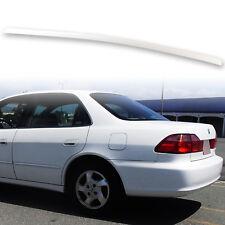 Painted Rear Trunk Lip Spoiler For Honda Accord 6th 98-02 Taffeta White NH578