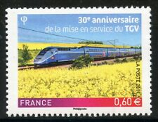 STAMP / TIMBRE de FRANCE NEUF N° 4592 ** TRAIN / TGV