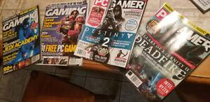 PC Gamer Magazine Computer Gaming World Magazine