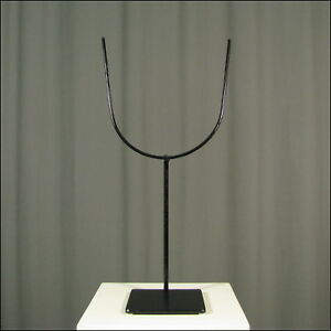 91137) Universeller Gabel-Ständer aus Metall 35 cm hoch / 4mm Draht