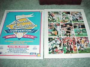 1993 Topps Stadium Club NSCC Diamond Day Football Uncut Sheet Green Bay Packers
