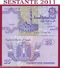 EGYPT / EGITTO - 25 PIASTRES 13.7. 2008 SIGN 22 - P 57 NEW - FDS / UNC