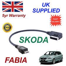 para SKODA FABIA Micro USB 5g0051763c Cable de audio Samsung HTC LG SONY Amazon