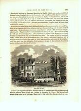 Public Square, Port Louis Mauritius   -   Admiral Perry Expedition  -   1856