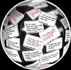 Lot of 12 Toss-N-Talk Noun, Verb, Adjective  Adverb Educational Inflatable Ball