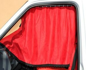 VAN CURTAINS FULL SET (INC. RAILS AND HOOKS) SPRINTER, CRAFTER, DUCATO, MASTER