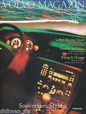 Volvo Magazin 3/98 1998 Bang & Olufsen Cirque du Soleil S80 Lee Westwood Missy
